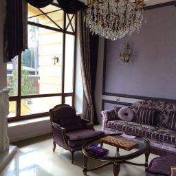 Гостиная и спальня на Новой Риге. Частный дизайнер по шторам Дарья. Пошив и фото штор в интерьере 2016