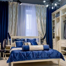Спальня в Mr.Doors (Мистер Дорс). Салон штор Салон текстиля. Спальня. Пошив и фото штор в интерьере 2016