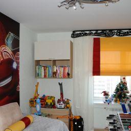 детская комната на богатырском пр. Дизайнер в салоне штор Елена. Детская. Пошив и фото штор в интерьере 2016