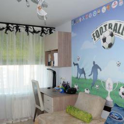 детская комната на богатырском пр. Потолочный карниз в детскую. Шторуз.ру