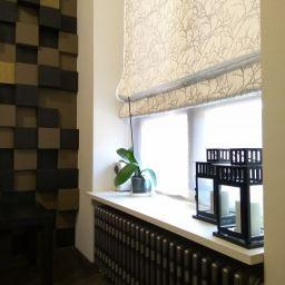 спальня на Алексеевской. Дизайнер в салоне штор Елена. Спальня. Пошив и фото штор в интерьере 2016