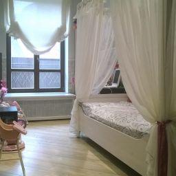детская на Алексеевской. Дизайнер в салоне штор Елена. Детская. Пошив и фото штор в интерьере 2016
