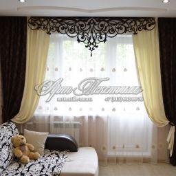 Гостиные. Салон штор Арт Текстиль. Пошив и фото штор в интерьере 2016
