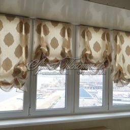 Лоджия. Салон штор Арт Текстиль. Пошив и фото штор в интерьере 2016