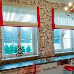 Рабочая зона кухни(Репино). Частный дизайнер по шторам Светлана. Пошив и фото штор в интерьере 2016