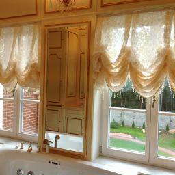 Ванная комната(Репино). Частный дизайнер по шторам Светлана. Пошив и фото штор в интерьере 2016