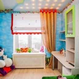 Детская. Частный дизайнер по шторам Светлана. Пошив и фото штор в интерьере 2016