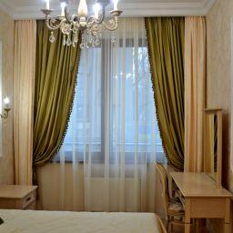 Спальня на Орловской. Салон штор Батист. Спальня. Пошив и фото штор в интерьере 2016