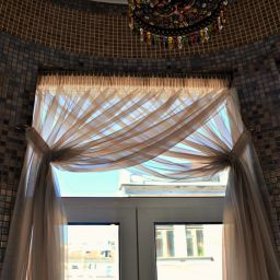 Лоджия на Стремянной. Салон штор Батист. Пошив и фото штор в интерьере 2016