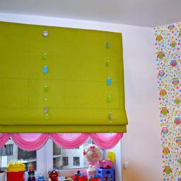 Детская на Кондратьевском. Салон штор Батист. Детская. Пошив и фото штор в интерьере 2016