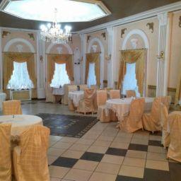 Оформление окон ресторана в г. Кинешма. Салон штор ИП Максимова М.В.. Пошив и фото штор в интерьере 2016