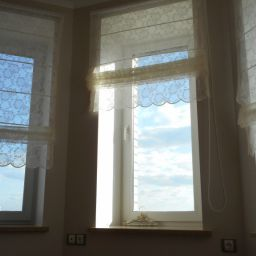 Квартира в Академгородке.  Антик, студия дизайна. Пошив и фото штор в интерьере 2016