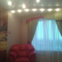 Детская девочки..  Семенов Александр. Пошив и фото штор в интерьере 2016