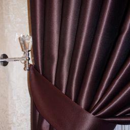 Комплект штор в гостиную. Частный дизайнер по шторам Басалаева Елена. Пошив и фото штор в интерьере 2016