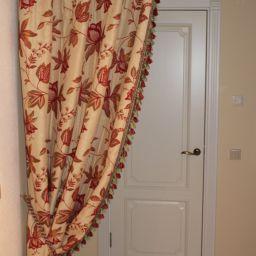 Интерьеры в стиле прованс.Текстиль. .  Территория интерьера. Пошив и фото штор в интерьере 2016