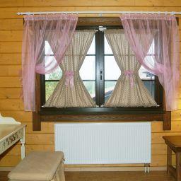 Загородный дом. Дизайнер в салоне штор Калапкина Марина. Пошив и фото штор в интерьере 2016