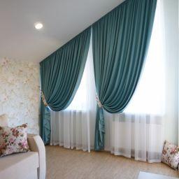 Дом в Гатчинских поместьях.. Частный дизайнер по шторам Басалаева Елена. Мансарда. Пошив и фото штор в интерьере 2016