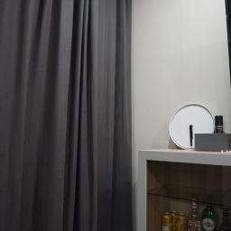 Квартира в Больших Колпанах. Частный дизайнер по шторам Басалаева Елена. Гостиная. Пошив и фото штор в интерьере 2016