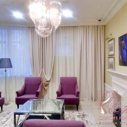 Холл. Салон штор Дизайн тканного интерьера Мария. Пошив и фото штор в интерьере 2016