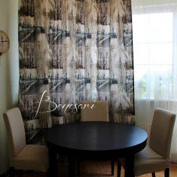 Кухни в квартирах. Частный дизайнер по шторам Краснова Екатерина. Кухня. Пошив и фото штор в интерьере 2016