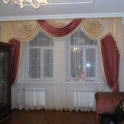 Гостиная .. Настенный карниз в гостиную. Шторуз.ру