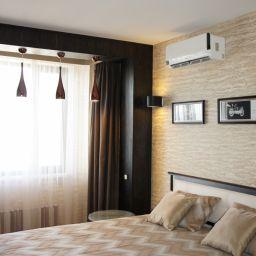 Гостевая спальня. Частный дизайнер по шторам Иванова Юлия. Спальня. Пошив и фото штор в интерьере 2016