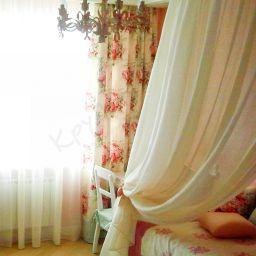 детская для двочки, Воронцовские пруды. Частный дизайнер по шторам Круцько Тамара. Детская. Пошив и фото штор в интерьере 2016